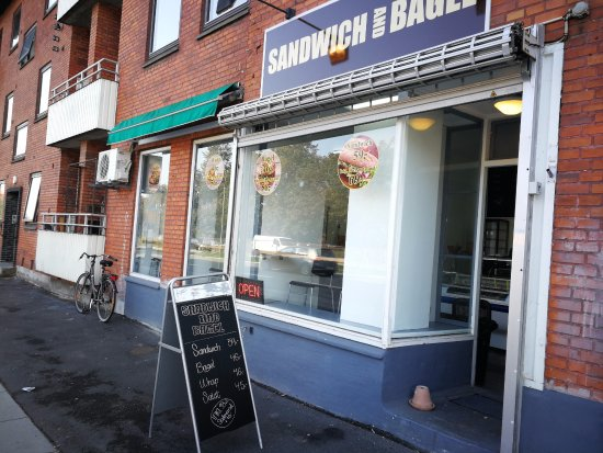 Herlev, Denmark: Sandwich And Bagel