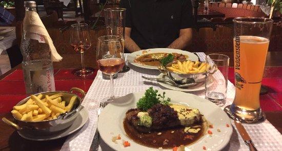 Hotel zum weyßen Rößle: Dinner