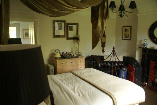 Guyzance, UK: Slaapkamer uit ene hoek