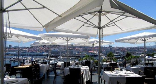 Restaurante Marina Davila: Terraza Vigo