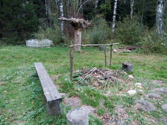 Smolensk Oblast, Russia: Место для костра
