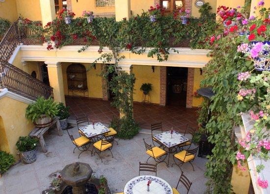 Posada de las Minas Restaurant: Vista del Restaurante