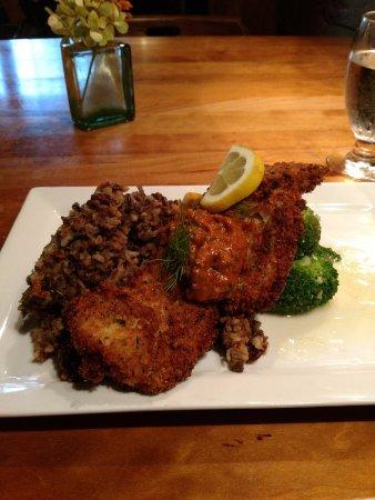 Birchwood, WI: walleye dinner