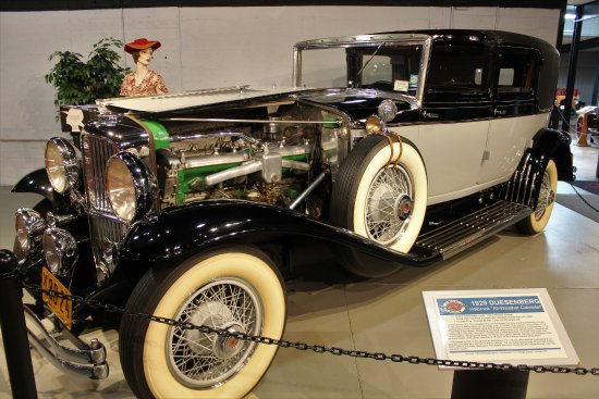 "Norwich, NY: 1929 Duesenberg ""All Weather Cabriolet"" by Holbrook, the only survivor of two built"