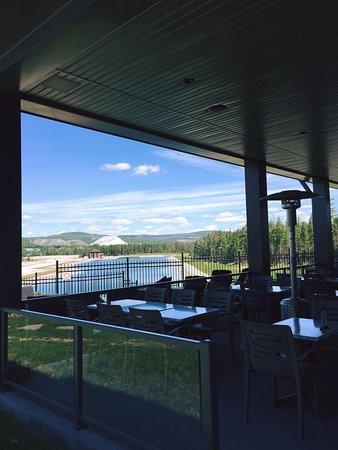Thetford Mines, كندا: La terrasse