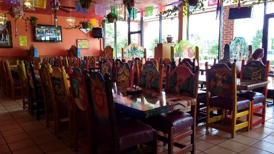 Monte de Rey: Dining room.