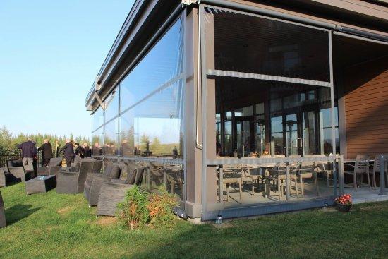 Thetford Mines, كندا: Terrasse chauffée