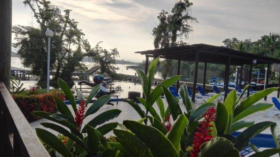 Hotel Mansion del Rio: Desayunando con una vista increible
