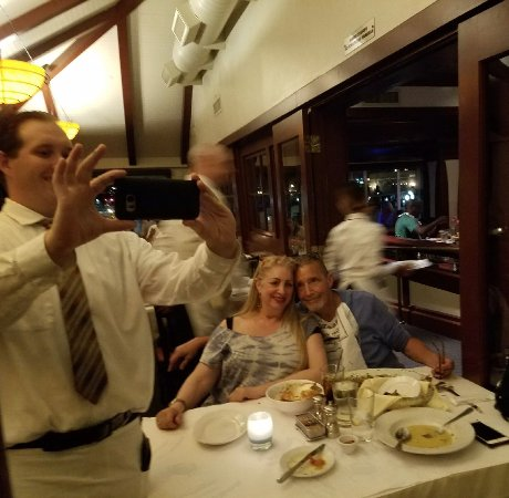 With Server, Justin - Picture of Fog Harbor Fish House, San