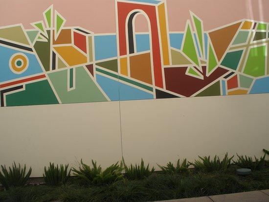 Palo Alto, كاليفورنيا: murals