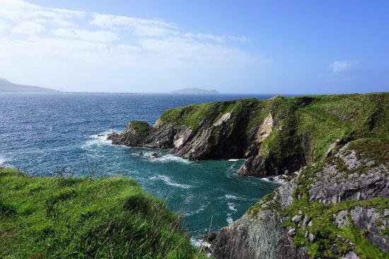 Dunquin, Irland: Beautiful colors ...
