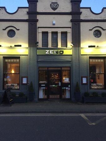 Zeno Italian Restaurant Horley