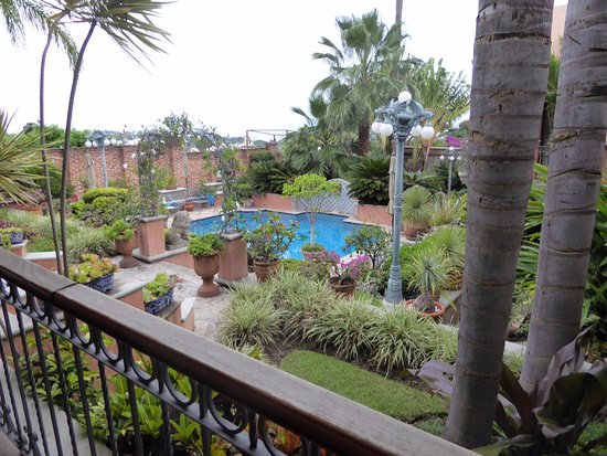 Casa Tres Leones: View from the breakfast area