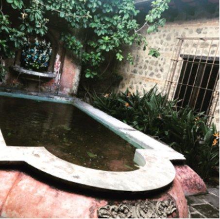 Porta Hotel Antigua : Llegada al Lobby