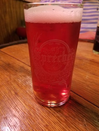 Sprecher Brewing Co.: Cherry Beer - My wife's favorite