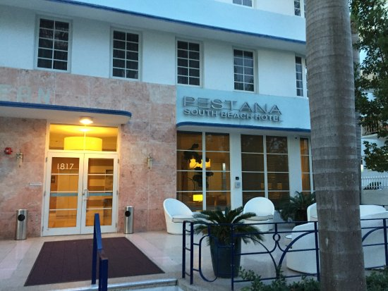 Pestana Miami South Beach: entrada