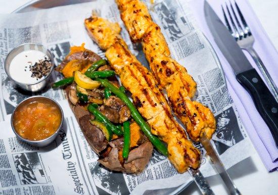 Allenhurst, NJ: Mediterranean Chicken Shish Kebab