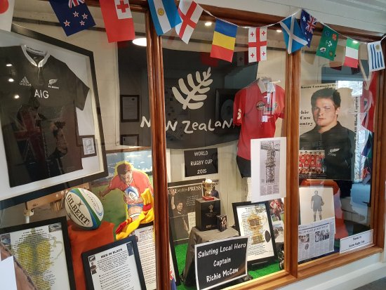 King Richie shrine at Kurow Museum & Information Centre