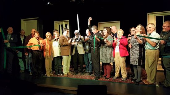 Catskill, NY: Official Ribbon Cutting for Bridge Street Theatre's Mainstage, November 29, 2016