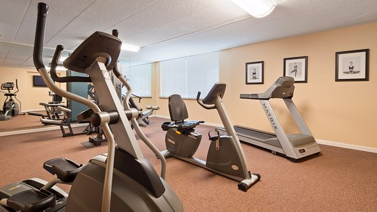 Best Western East Towne Suites: Fitness center