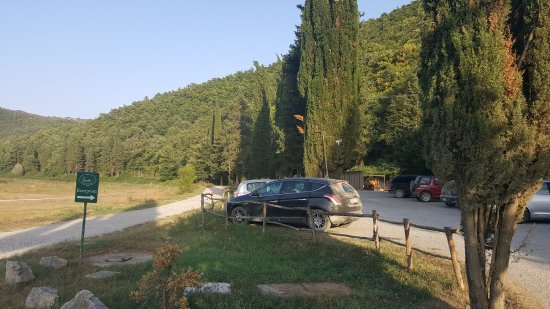 Ficulle, Italia: Parking area