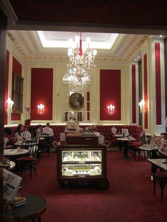 Cafe Sacher Wien Interior Del
