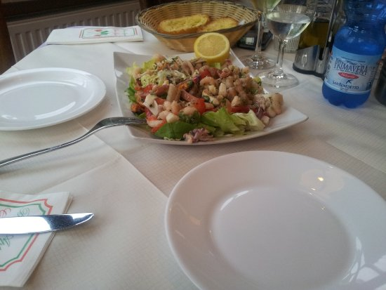 Kyllburg, ألمانيا: Insalata Frutti di Mare als Vorspeise