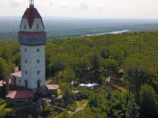 Talcott Mountain State Park: Heublein Tower and Farmington River