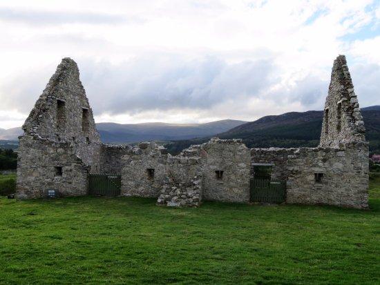 Newtonmore, UK: The stable block at Ruthven Barracks - Scotland (04/Sept/17).