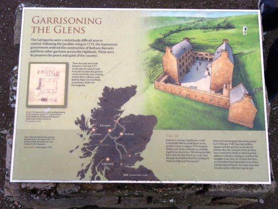 Newtonmore, UK: Garrisoning the Glens - Ruthven Barracks (04/Sept/17).