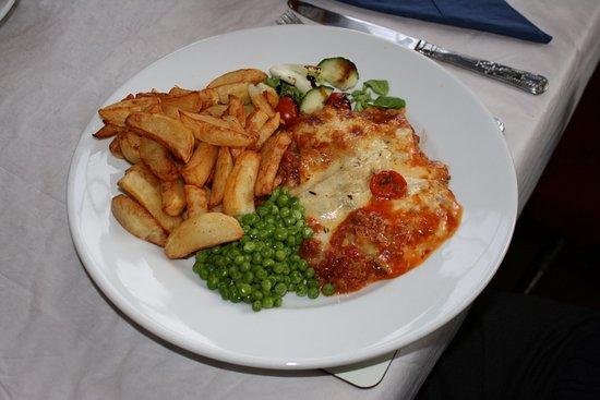 Ceredigion, UK: Lasagne