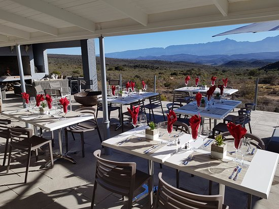 Ladismith, South Africa: Outdoor Dining Area