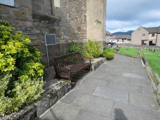 Clackmannan, UK: seating