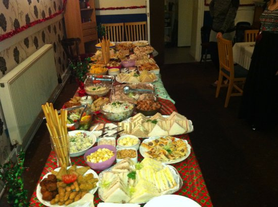 Ceredigion, UK: buffet