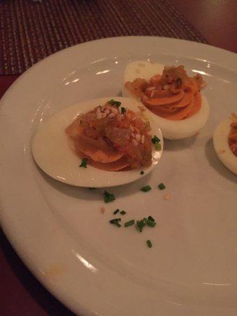 Nook Bistro: deviled eggs rate 5/5