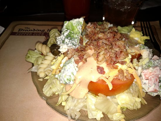 Branding Iron Supper Club - Wisconsin Rapids WI - Old Fashioned Supper Club - Delicious Salad Ba