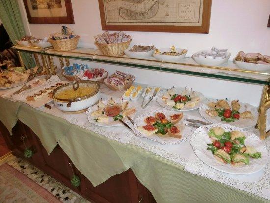 Hotel Serenissima: 朝ごはん