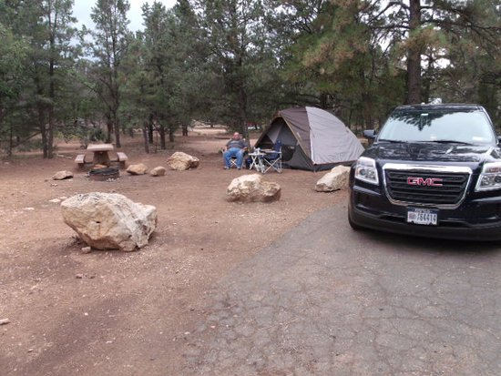 Mather Campground : Loved the location