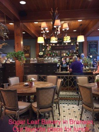 Sugar Leaf Bakery Amp Cafe Branson Restaurant Reviews