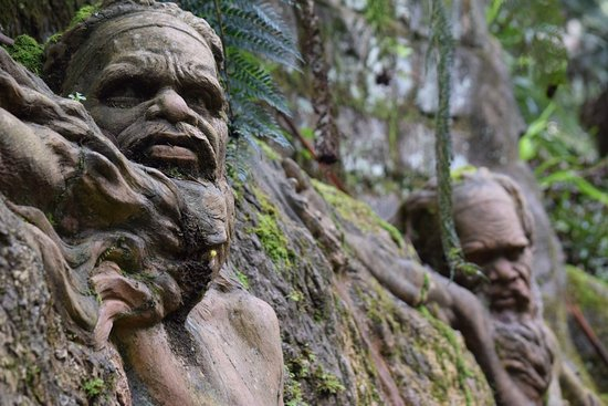 Mount Dandenong, Australia: An amazing place to visit. To think such an individual lived to create these sculptures for eter