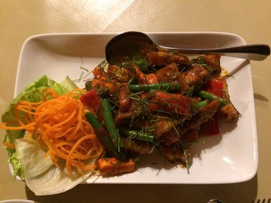 Tira Thai: Pad Khing Pork Belly main