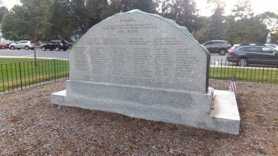 Lexington Green: marker