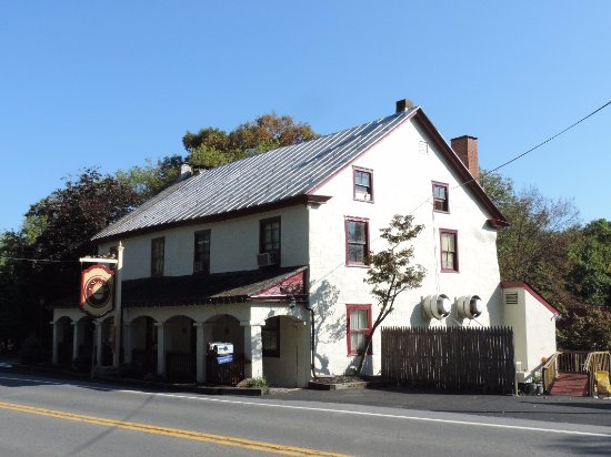 Mohnton, PA: Emily's is housed in an 1800's building right on Rt. 10