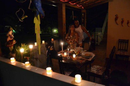 Jantar de Velas do Sítio Solar com...