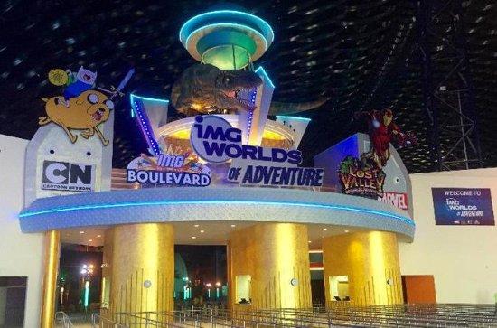 Dubai city tour and IMG World of...