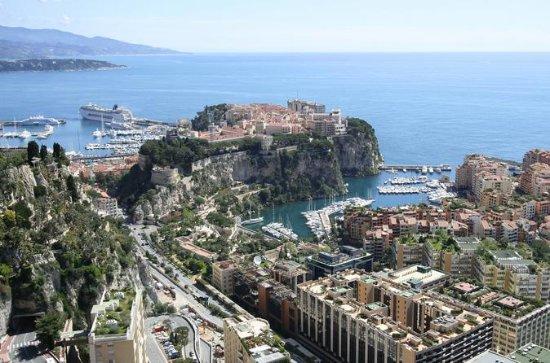 strandutflykt Eze och Monaco