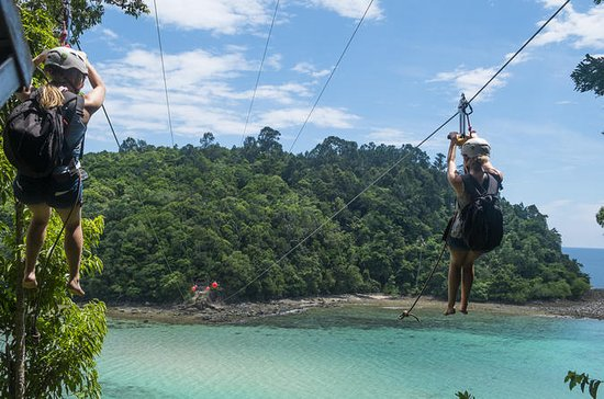 Full-Day Zip Park e Coral Flyer da