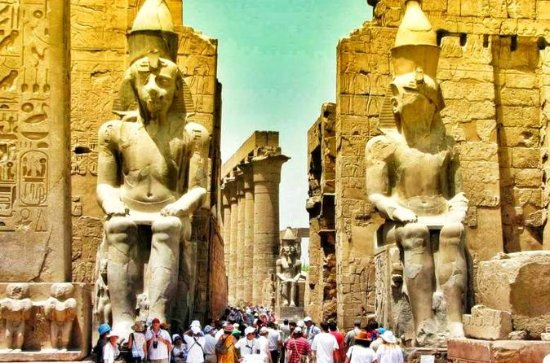 Private East Bank Luxor et le temple...