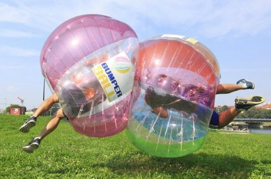 BUBBLE FOOTBALL in Krakow - 60 minutes game
