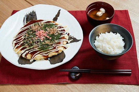 Culinária Okonomiyaki em Osaka...